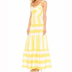 Paper London, Porto Dress in Sunshine Stripe, new!